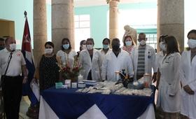 UNFPA entrega donación a instituciones de salud cubanas como parte de la respuesta a la crisis generada por la COVID-19