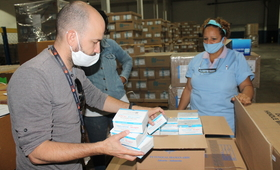 Donación de insumos de salud sexual y reproductiva realizada por el UNFPA en Cuba